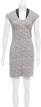 Yigal Azrouel Cut25 by Embroidered Mini Dress