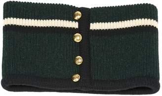 Bouchra Jarrar Green Wool Scarves