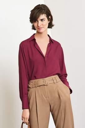 5585dd63c27 Burgundy Tops Long Sleeve Women - ShopStyle UK