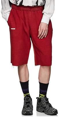 Vetements Men's Cotton-Blend Inside-Out Drop-Rise Shorts