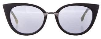 Fendi Iridia Cat-Eye Sunglasses