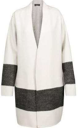 Rag & Bone Elgin Reversible Paneled Wool-Blend Felt Coat