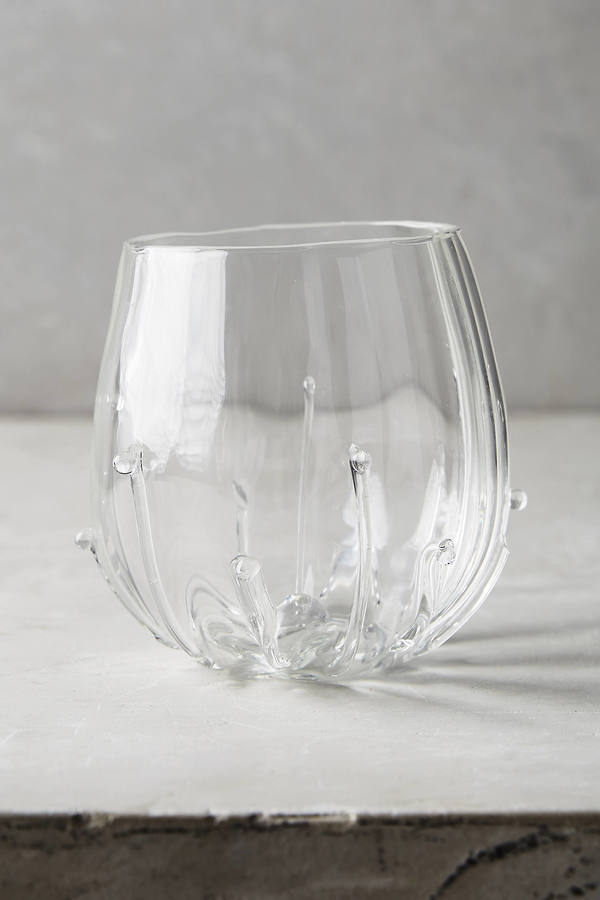 Anthropologie Anthropologie Mirlet Stemless Wine Glass
