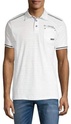 ProjekRaw Short Sleeve Dobby Polo Shirt