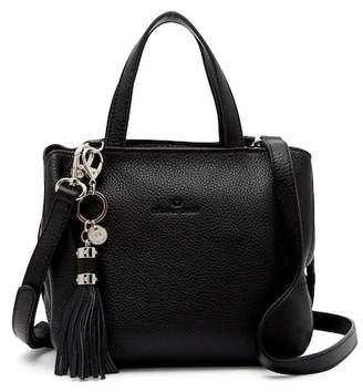 Celine Dion Mezzo Mini Leather Satchel