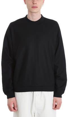 Jil Sander Black Wool Sweater