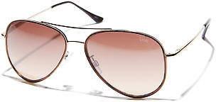 Liive Vision New Women's Morrison Womens Sunglasses Glass Gold