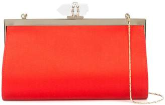 Marchesa embellished clasp clutch