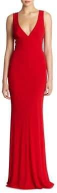 ABS Elegant V-Back Gown