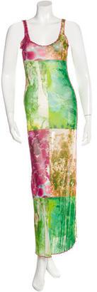 Jean Paul Gaultier Printed Maxi Dress $145 thestylecure.com