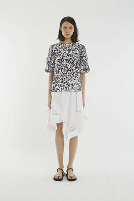 3.1 Phillip Lim Gathered-Sleeve Blouse