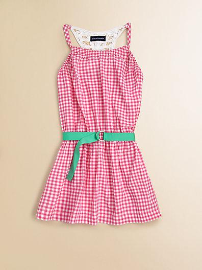 Ralph Lauren Toddler's & Little Girl's Gingham Dress