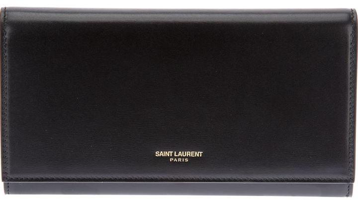 Saint Laurent 'Classique Marquage Dore' wallet
