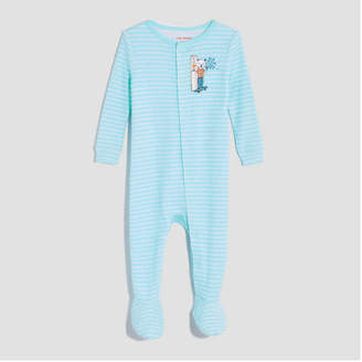 Joe Fresh Baby Boys' Long Sleeve Stripe Sleeper