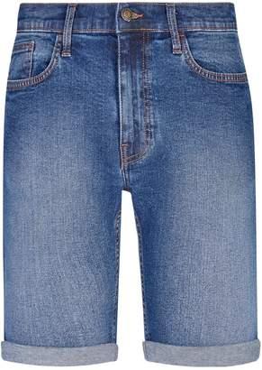 Dorothy Perkins Womens **Burton Mid Blue Denim Shorts