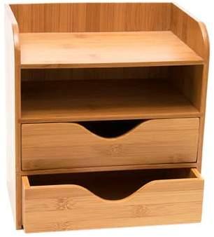 Rebrilliant Bamboo 4 Tier Desk Organizer
