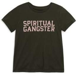 Spiritual Gangster Toddler's, Little Girl's& Girl's SG Varsity Tee