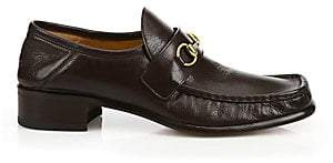 Gucci Men's Horsebit Leather Loafers