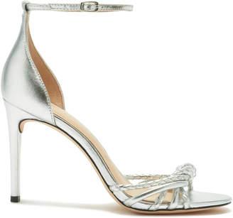 Rachel Zoe Aubrey Metallic Leather Heeled Sandals