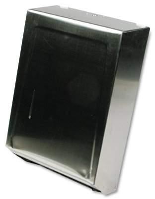 Ex-Cell Kaiser Ex-Cell C-Fold or Multifold Towel Dispenser, 11 1/4 x 4 x 15 1/2, Stainless Steel