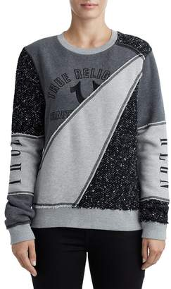 True Religion Patchwork Logo Pullover