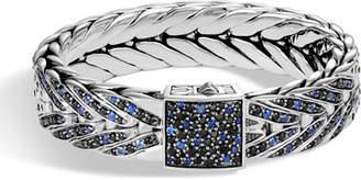 John Hardy Men's Modern Chain Sapphire Link Bracelet, Size M