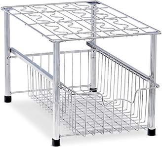 Simple Houseware Stackable Under Sink Cabinet Sliding Basket Organizer Drawer