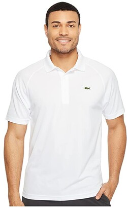 Lacoste Sport Short Sleeve Ultra Dry Raglan Sleeve Polo