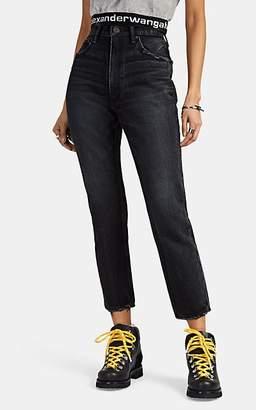 "Moussy VINTAGE Women's ""Irving Boy"" Skinny Jeans - Black"