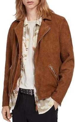 AllSaints Judd Suede Biker Jacket