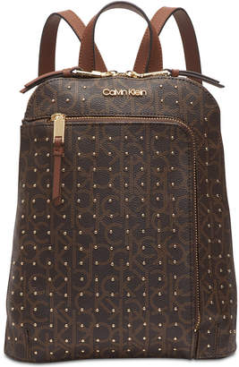 Calvin Klein Hudson Signature Studded Backpack