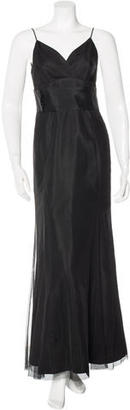 Vera Wang Tulle Evening Gown $175 thestylecure.com