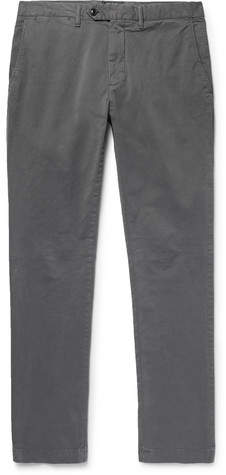 Todd Snyder Slim-Fit Stretch Cotton-Twill Chinos