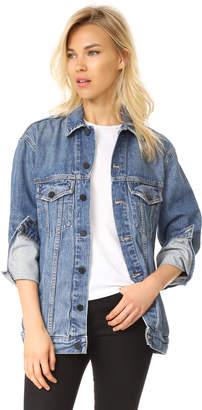 Alexander Wang Denim x Daze Oversized Denim Jacket