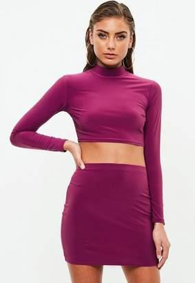 Missguided Petite Slinky Co Ord Skirt
