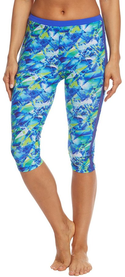 Profile by Gottex Pacific Blue Capri Leggings 8156926