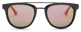 Joe's Jeans Polarized 52mm Modified Aviator Sunglasses