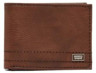 Levi's Passcase Leather Wallet