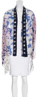 Diane von Furstenberg Draped Silk Vest