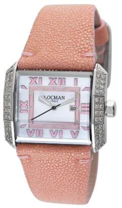 Locman Women's 232MOPPKDC Otto Collection Steel Watch