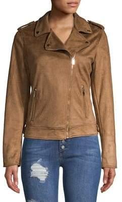 Dorothy Perkins Faux-Suede Moto Jacket