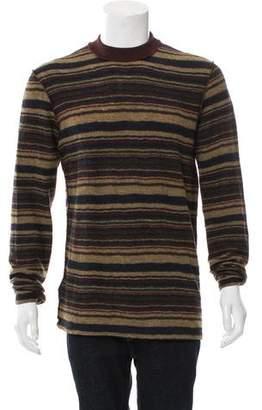 Maison Margiela Striped Wool Sweater