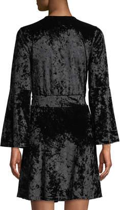 MICHAEL Michael Kors Velvet Mini Sheath Dress