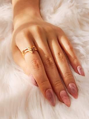 Shein V-shaped Ring 2pcs