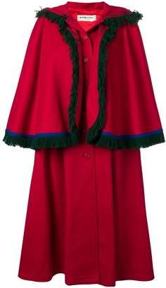 Saint Laurent Pre-Owned 1980's cape coat
