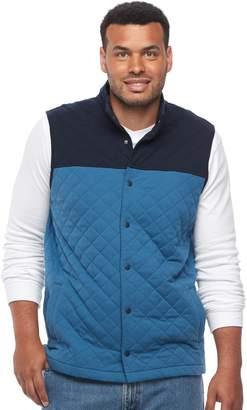 Croft & Barrow Big & Tall Outdoor Quilted Fleece Vest