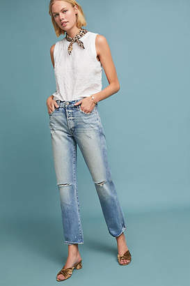 Amo Layla High-Rise Straight Jeans