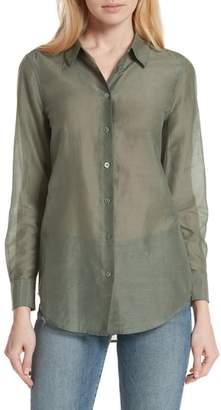 Equipment Essential Cotton & Silk Shirt
