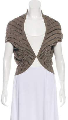 Alice + Olivia Sequined Open Front Cardigan w/ Tags