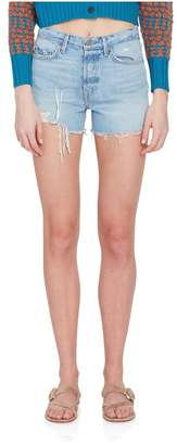 GRLFRND Denim Helena Hi-Rise Cutoff Shorts